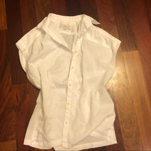 Ann Taylor Loft short sleeve button down